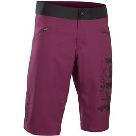 ION Scrub Bike Shorts Herr pink isover